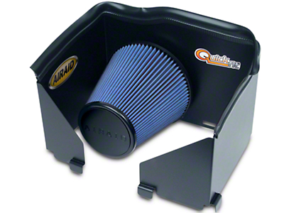 Airaid QuickFit Air Dam w/ Blue SynthaMax Dry Filter (02-05 4.7L RAM 1500)