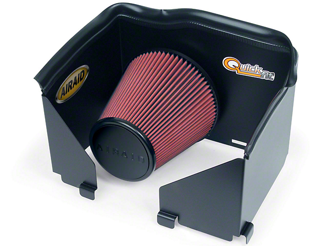 Airaid QuickFit Air Dam w/ Red SynthaMax Dry Filter (02-05 4.7L RAM 1500)