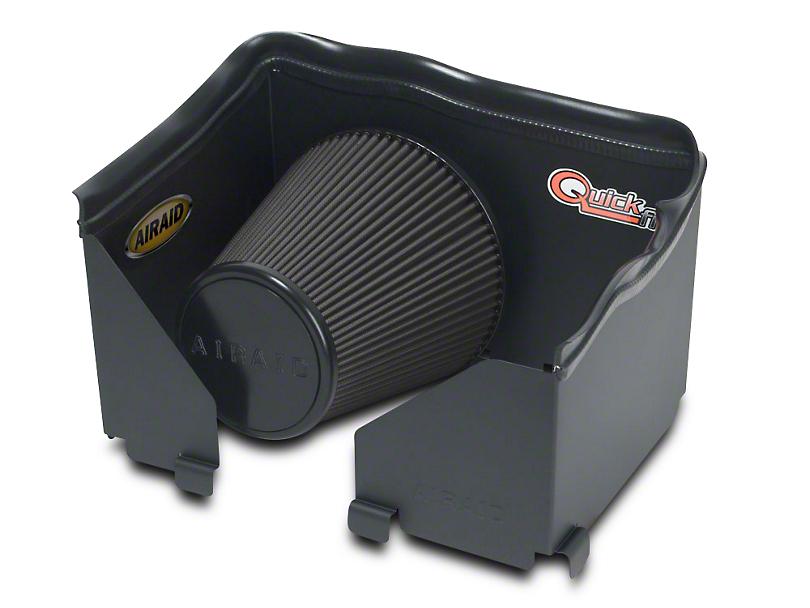 Airaid QuickFit Air Dam w/ Black SynthaMax Dry Filter (06-08 3.7L RAM 1500)