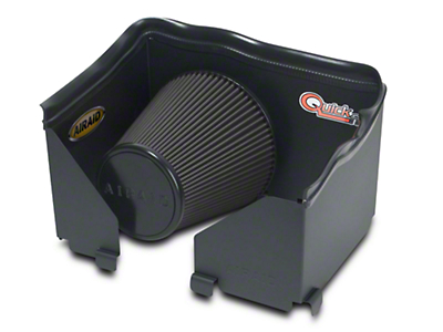 Airaid QuickFit Air Dam w/ Black SynthaMax Dry Filter (06-08 3.7L RAM 1500)