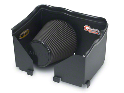 Airaid QuickFit Air Dam w/ Black SynthaMax Dry Filter (06-08 4.7L RAM 1500)