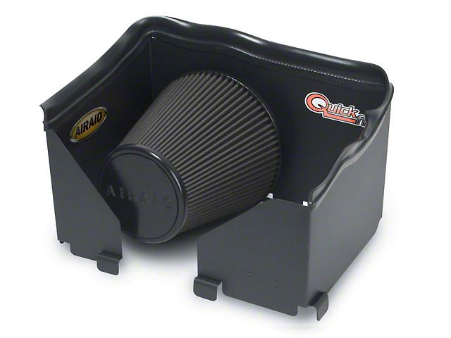 Airaid QuickFit Air Dam w/ Black SynthaMax Dry Filter (06-08 5.7L RAM 1500)