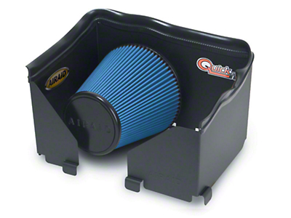 Airaid QuickFit Air Dam w/ Blue SynthaMax Dry Filter (06-08 3.7L RAM 1500)
