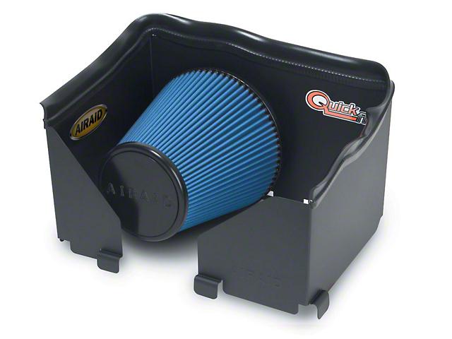 Airaid QuickFit Air Dam w/ Blue SynthaMax Dry Filter (06-08 4.7L RAM 1500)