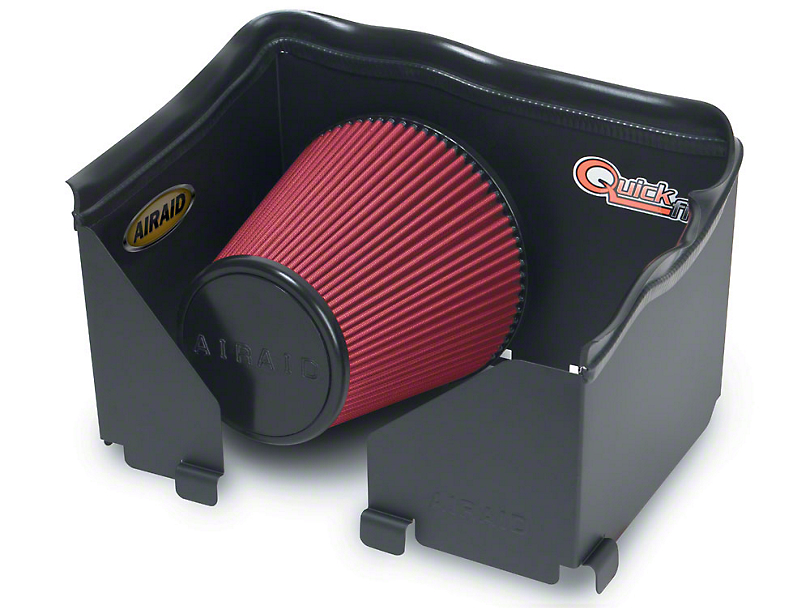 Airaid QuickFit Air Dam w/ Red SynthaMax Dry Filter (06-08 3.7L RAM 1500)