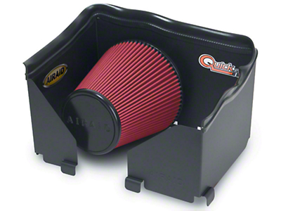 Airaid QuickFit Air Dam w/ Red SynthaMax Dry Filter (06-08 4.7L RAM 1500)