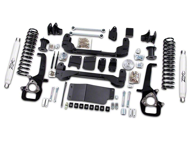 Zone Offroad 6 in. Suspension Lift Kit w/ Shocks (09-11 4WD RAM 1500)