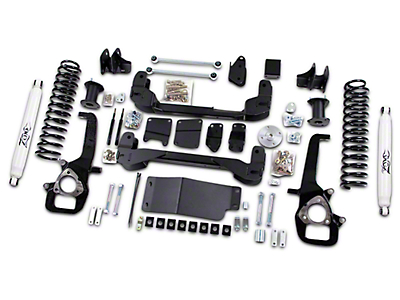 Zone Offroad 6 in. Suspension Lift Kit w/ Shocks (09-11 4WD RAM 1500)