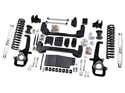 Zone Offroad 6 in. Suspension Lift Kit w/ 5 in. Rear Springs & Nitro Shocks (13-18 4WD w/o Air Ride Suspension)