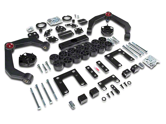 Zone Offroad 4 in. Adventure Series & Body Combo Lift Kit (09-11 4WD RAM 1500)