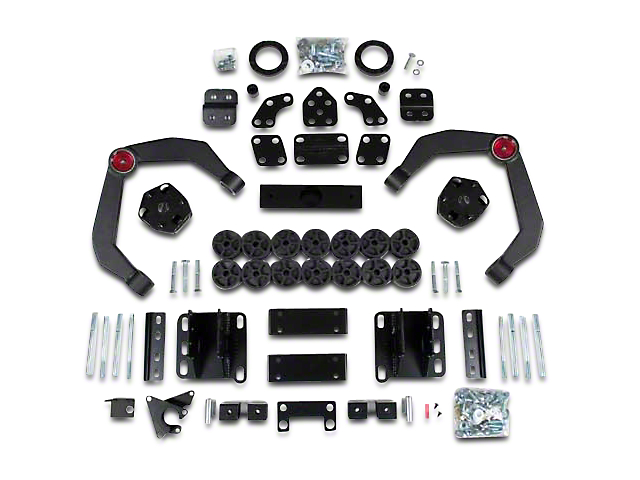 Zone Offroad 4 in. Adventure Series & Body Combo Lift Kit (06-08 4WD RAM 1500, Excluding Mega Cab)