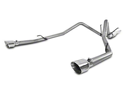 MBRP 2.5 in. Installer Series Dual Exhaust System - Rear Exit (09-18 5.7L RAM 1500 w/ Factory Dual Exhaust)