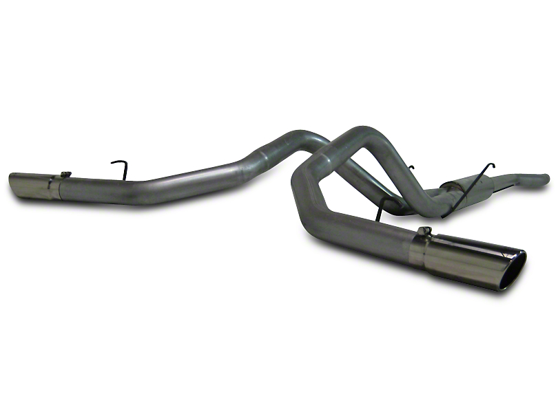MBRP 3.5 in. Installer Series Dual Exhaust System - Side Exit (06-08 5.7L RAM 1500)