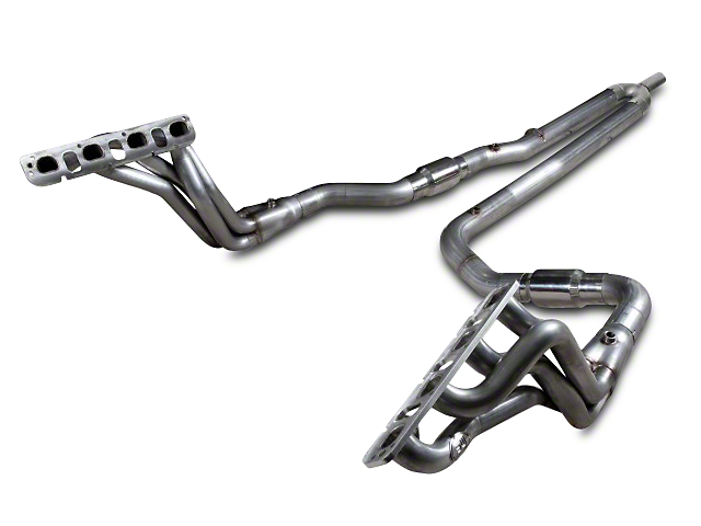 Stainless Works 1-7/8 in. Headers w/ Catted Y-Pipe - Factory Connect (09-18 5.7L RAM 1500 Quad Cab, Crew Cab)