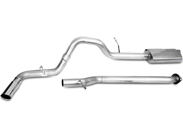 CGS Motorsports Stainless Single Exhaust System - Side Exit (04-08 5.7L RAM 1500)