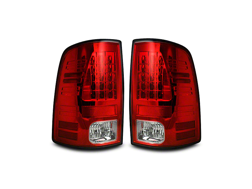 Recon LED Tail Lights - Red Lens (09-18 RAM 1500)