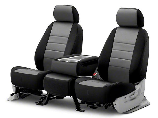 Fia Custom Fit Neoprene Front Seat Covers - Gray (06-08 RAM 1500 w/ Bucket Seats)