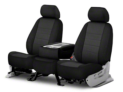 Fia Custom Fit Tweed Front Seat Covers - Charcoal (06-08 RAM 1500 w/ Bucket Seats)