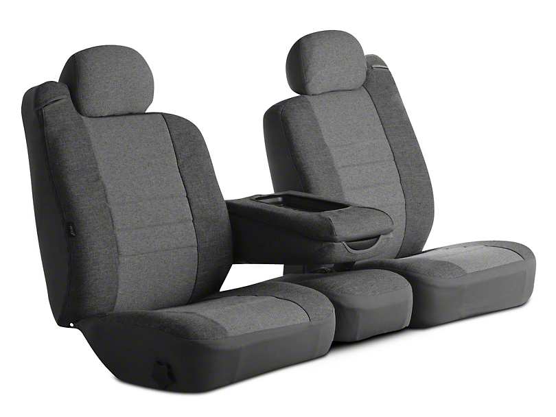 Fia Custom Fit Tweed Front Seat Cover - Gray (09-18 RAM 1500 w/ Bench Seat)