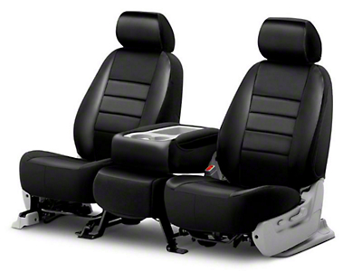 Fia Custom Fit Leatherlite Front Seat Cover - Black (09-18 RAM 1500 w/ Bench Seat)