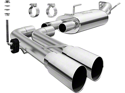 Magnaflow MF Series Dual Exhaust System - Middle Side Exit (13-18 3.6L RAM 1500)