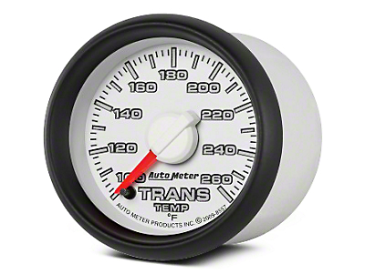 Auto Meter Factory Match Transmission Temp Gauge - Digital Stepper Motor (02-08 RAM 1500)