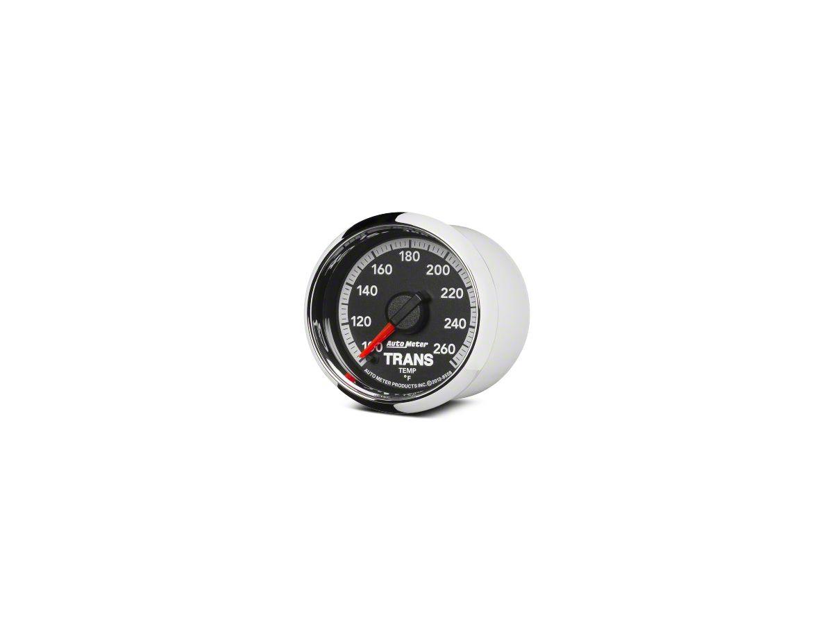 Auto Meter Factory Match Transmission Temp Gauge - Digital Stepper Motor  (09-18 RAM 1500)