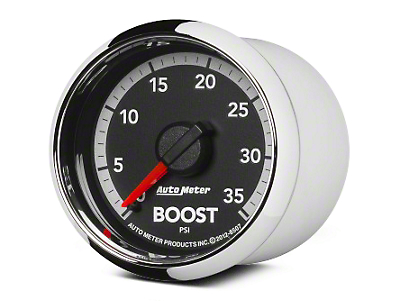 Auto Meter Factory Match Boost Gauge - 0-35 PSI - Mechanical (09-18 RAM 1500)