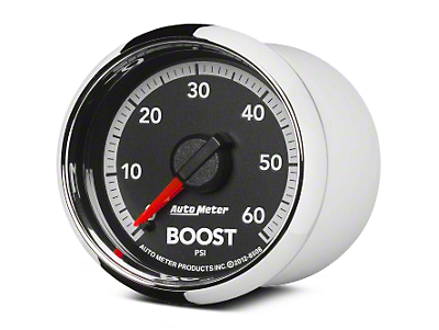Auto Meter Factory Match Boost Gauge - 0-60 PSI - Mechanical (09-18 RAM 1500)