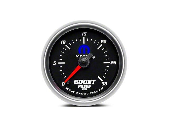 Mopar Boost Gauge - Digital Stepper Motor - Black (02-19 RAM 1500)