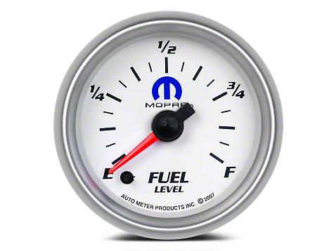 Mopar Fuel Level Gauge - Digital Stepper Motor - White (02-19 RAM 1500)