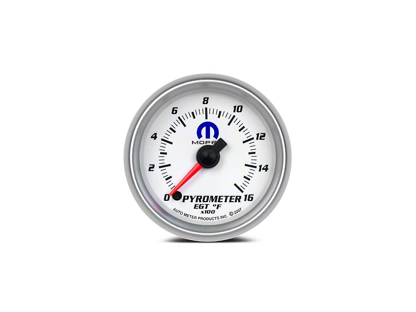 Mopar Pyrometer Gauge - Digital Stepper Motor - White (02-19 RAM 1500)