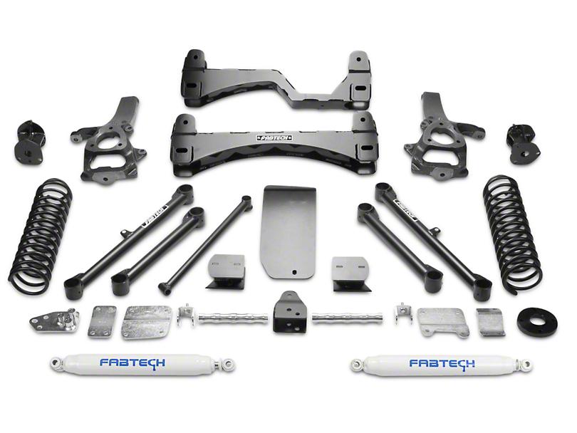 Fabtech 6 in. Basic Lift System w/ Shocks (13-18 4WD RAM 1500 w/o Air Ride Suspension)