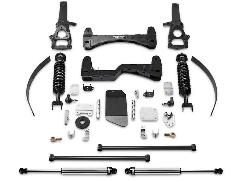 Fabtech 6 in. Performance Lift System w/ Dirt Logic Coilovers & Shocks (06-08 4WD RAM 1500)
