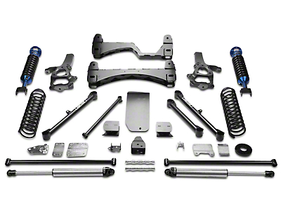Fabtech 6 in. Performance Lift System w/ Dirt Logic Coilovers & Shocks (09-12 4WD RAM 1500)