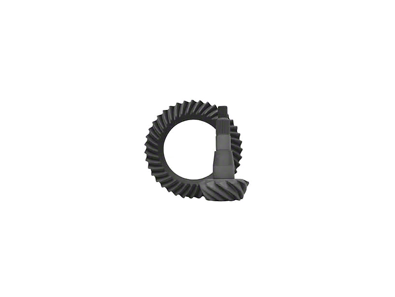 Yukon Gear 9.25-Inch Rear Axle Ring and Pinion Gear Kit; 4.56 Gear Ratio (02-10 RAM 1500)