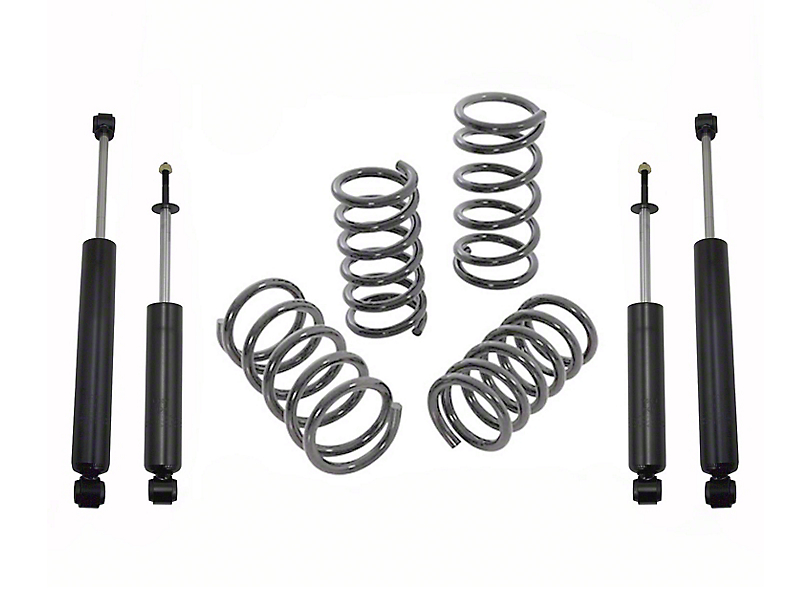 Max Trac Lowering Kit - 2 in. Front / 3 in. Rear (09-18 2WD V8 RAM 1500 Crew Cab)