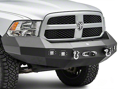 DV8 Off-Road Front Recovery Bumper (13-15 RAM 1500, Excluding Rebel)