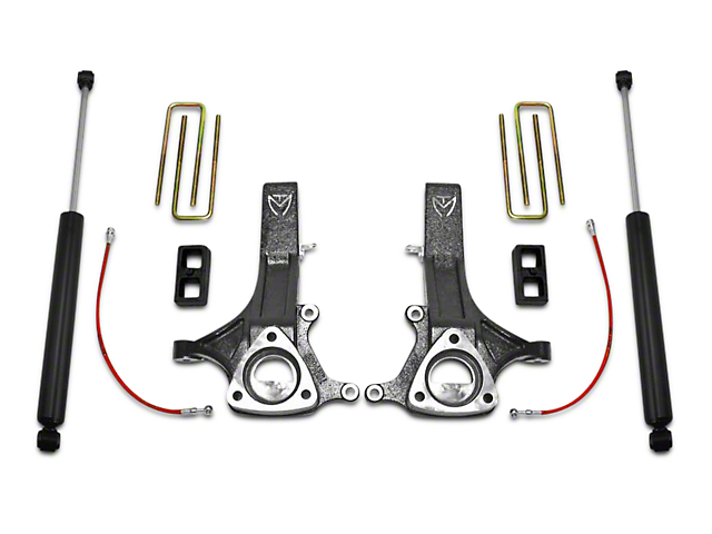 Max Trac MaxPro 4.5 in. Front / 2 in. Rear Lift Kit w/ Shocks (02-08 2WD RAM 1500, Excluding Mega Cab)