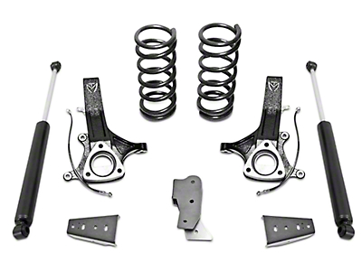 Max Trac MaxPro 4.5 in. Front / 3 in. Rear Lift Kit w/ Shocks (09-18 2WD RAM 1500 w/o Air Ride)