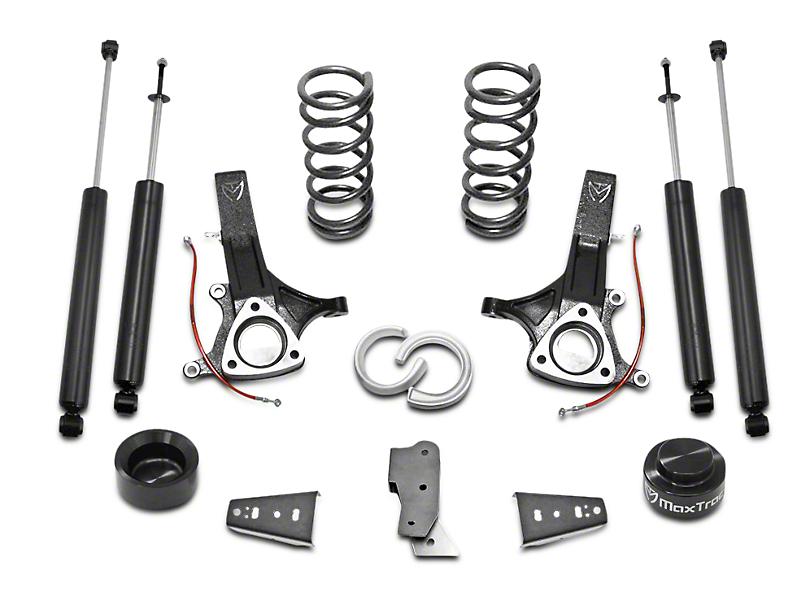 Max Trac MaxPro 6.5 in. Front / 4.5 in. Rear Lift Kit w/ Shocks (09-18 2WD 3.6L, 3.7L RAM 1500 w/o Air Ride)
