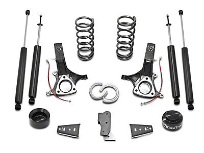 Max Trac MaxPro 6.5 in. Front / 4.5 in. Rear Lift Kit w/ Shocks (09-18 2WD 3.6L, 3.7L RAM 1500 w/o Air Ride)