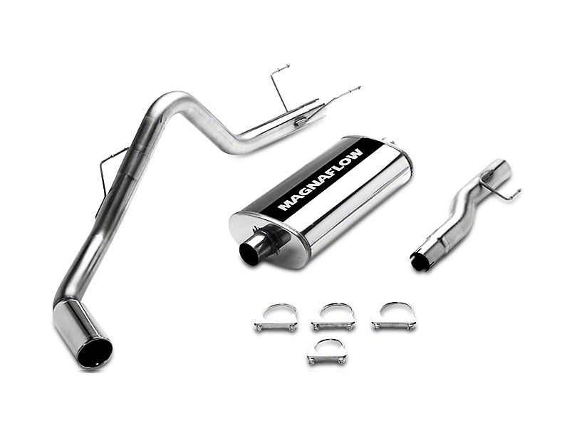 Magnaflow MF Series Single Exhaust System - Side Exit (02-03 5.9L RAM 1500)