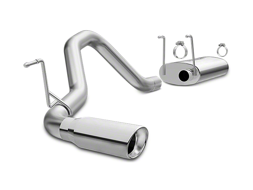 Magnaflow MF Series Single Exhaust System - Side Exit (13-18 3.6L RAM 1500)