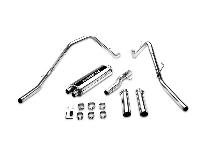 Magnaflow MF Series Dual Exhaust System - Rear Exit (02-03 5.9L RAM 1500)