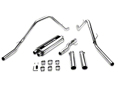 Magnaflow MF Series Dual Exhaust System - Rear Exit (02-03 5.9L RAM 1500)