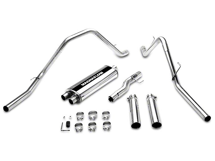 Magnaflow MF Series Dual Exhaust System - Rear Exit (02-04 4.7L RAM 1500)
