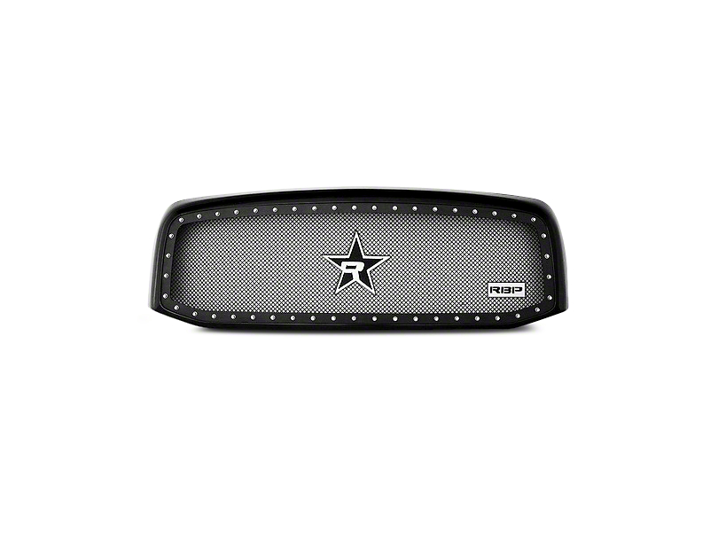 RBP NDX Series Upper Replacement Grille - Black (06-08 RAM 1500)