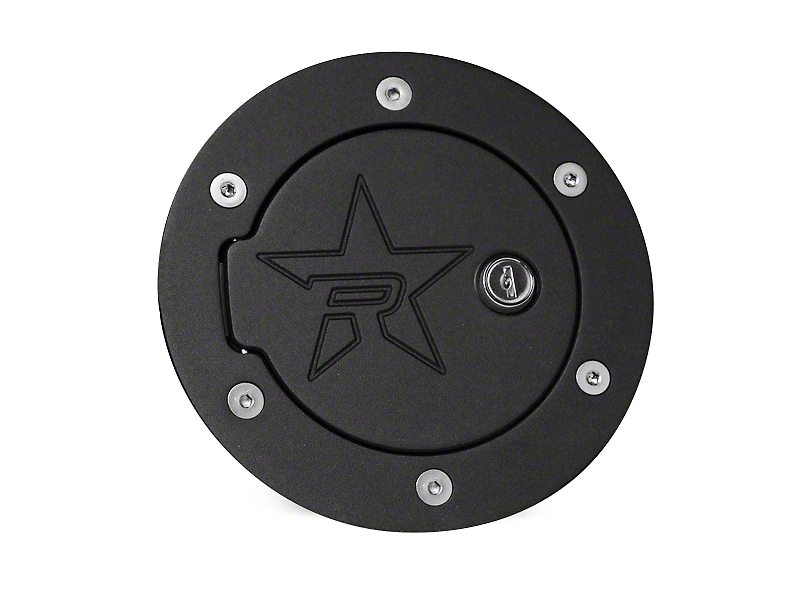 RBP RX-2 Series Locking Fuel Door - Black (09-12 RAM 1500)