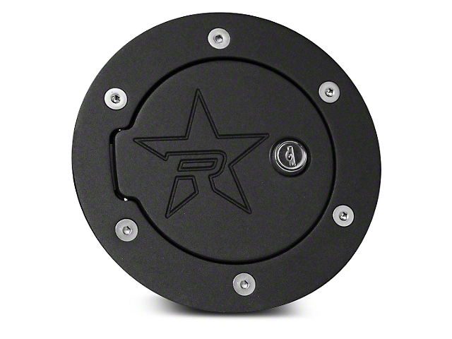 RBP RX-2 Series Locking Fuel Door - Black (02-08 RAM 1500)